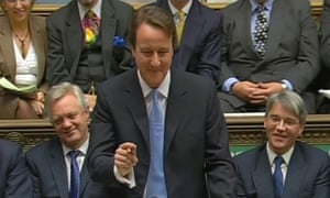 Cameron's first PMQs.
