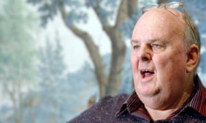 Harries quotes the Australian poet Les Murray, pictured, saying that God is 'in the world as poetry is in the poem'.