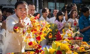 Thai culture minister Veera Rojpojanarat