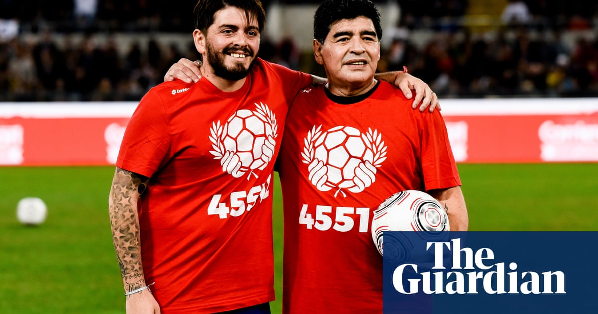 Maradona Jr pleads for DNA donors in search for Argentina's stolen babies