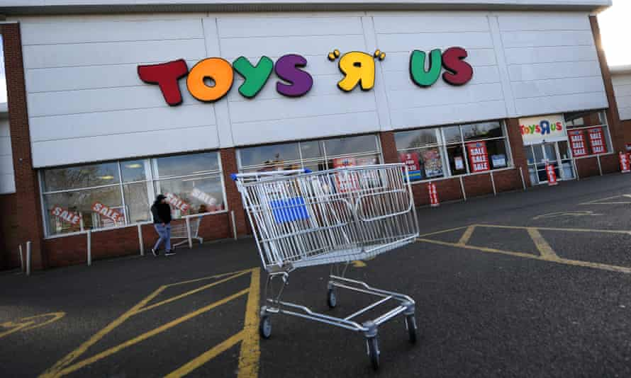 A Toys R Us store in London.