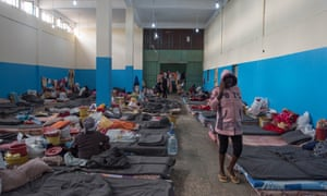 Detention centre in Zawiyah
