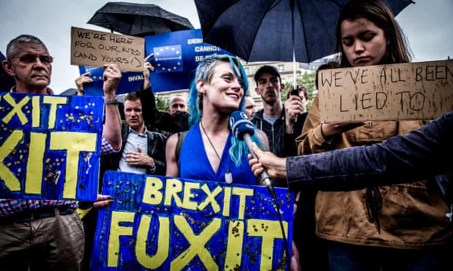 Anger, denial and sadness are all part of the grieving process. And remainers are feeling this acutely.