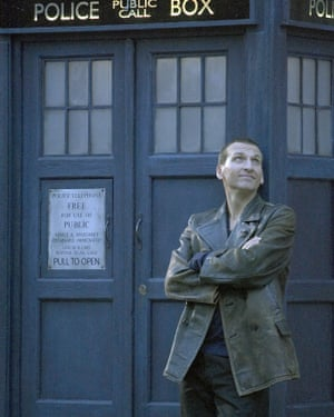 Christopher Eccleston: unhappy behind-the-scenes.