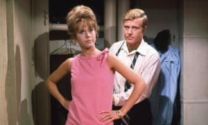 Young love: with Robert Redford in 1967's Barefoot in the Park.
