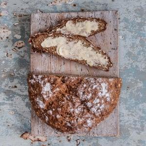 Better with butter: Irish soda bread.