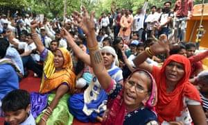 Dalit protest New Delhi, May 2018
