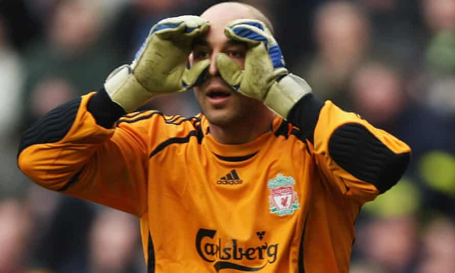 Pepe Reina was unfairly penalised for handball when clearing the ball for Liverpool against Bolton in 2006.