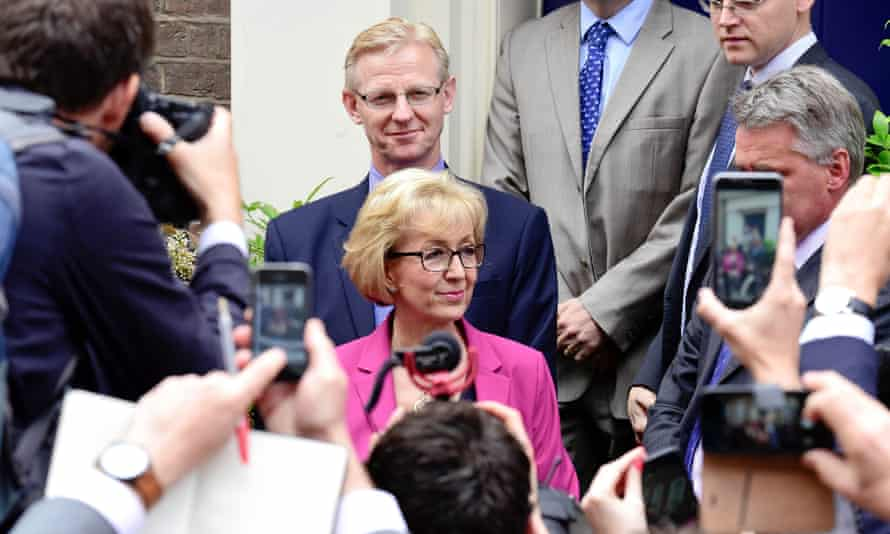 Andrea Leadsom pulls out of the Conservative leadership race on 11 July.