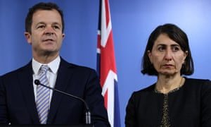 Mark Speakman with the NSW premier Gladys Berejiklian.