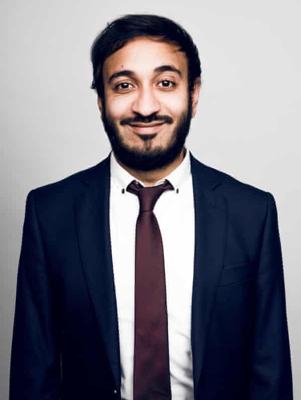 Going 'heid first' … Bilal Zafar