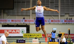 Dan Bramble won the British Indoor title in Glasgow this year. A crowdfunding campaign has revived the long jumper's Olympic dreams.
