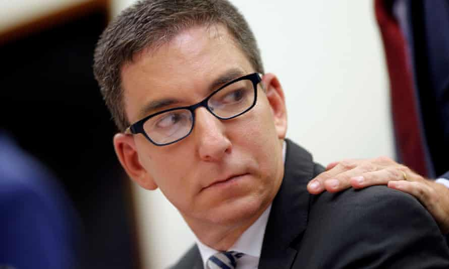 Glenn Greenwald in Brasília, Brazil, on 25 June.