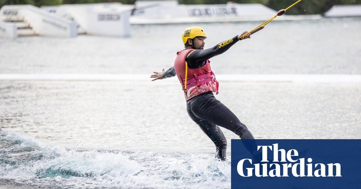 Rhik Samadder tries … wakeboarding: 'I scream underwater with every faceplant'