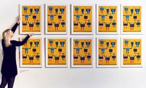 Pop art celebrates arrival of smart meters.