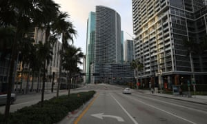 Brickell Avenue in the heart of downtown Miami