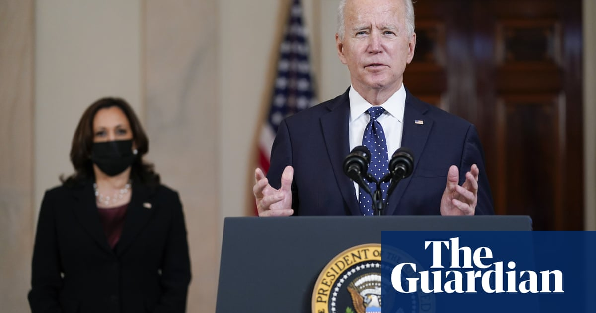 'Systemic racism is a stain on our nation': Biden and Harris react to Derek Chauvin verdict – video
