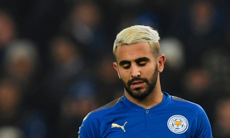Riyad Mahrez ends exile and returns to Leicester training
