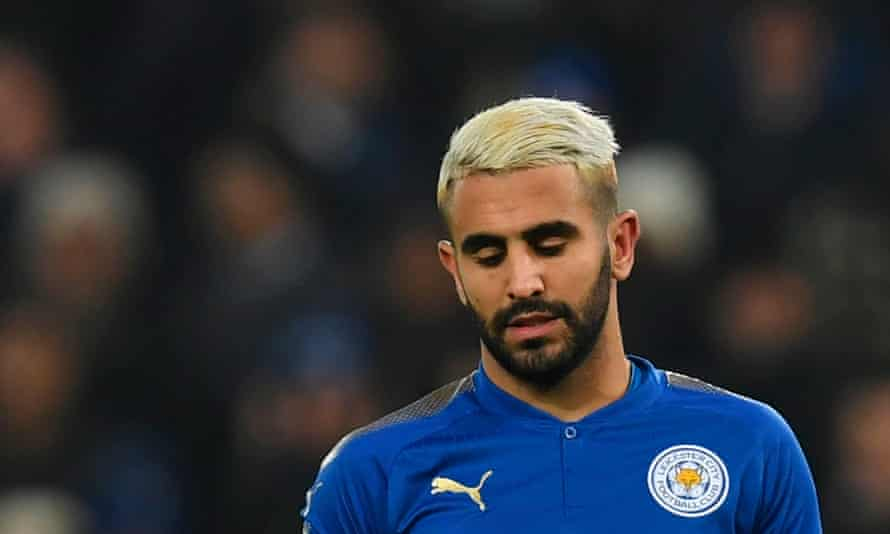 Riyad Mahrez has not played for Leicester since his move to Manchester City did not go through.