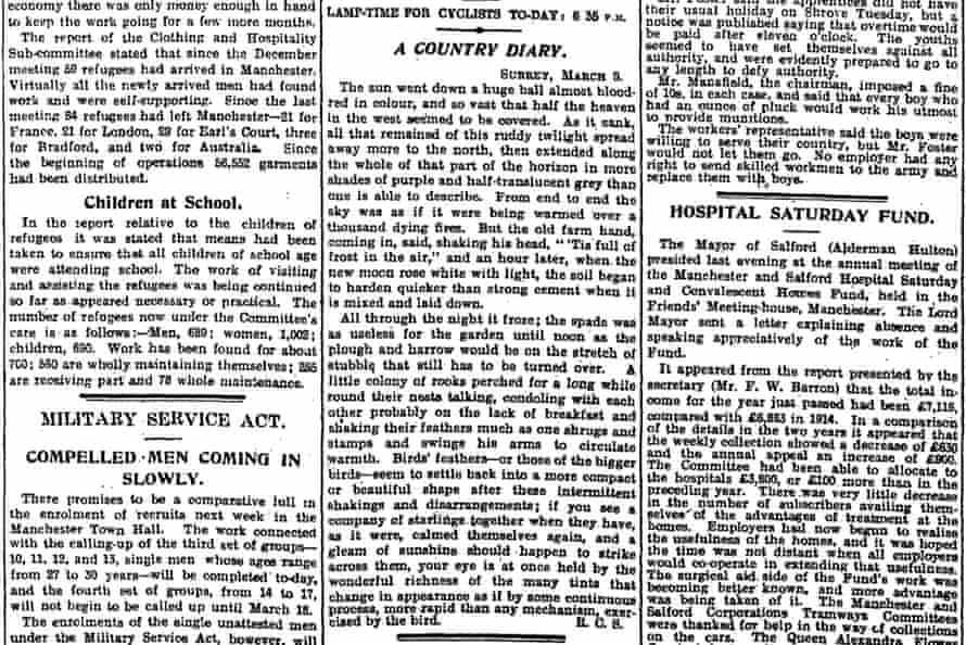 Manchester Guardian, 11 March 1916