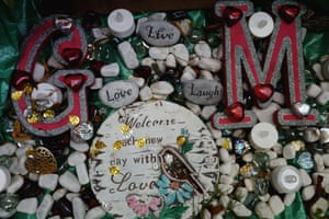 George Michael's memorial garden – in pictures | Music | The