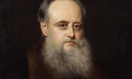 detail from portrait of Wilkie Collins by Rudolph Lehmann.