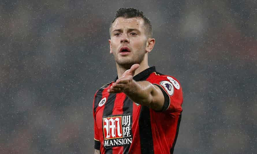 Jack Wilshere has made 17 Premier League starts for Bournemouth since arriving from Arsenal on a season-long loan deal