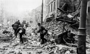 Hitler's forces destroyed over 85% of Warsaw's historic centre.