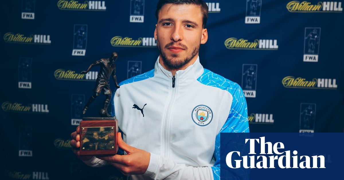 Manchester City's Rúben Dias named football writers' men's player of year