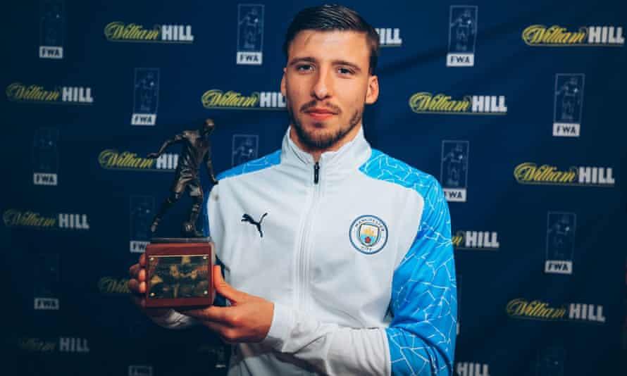 Manchester City's Rúben Dias