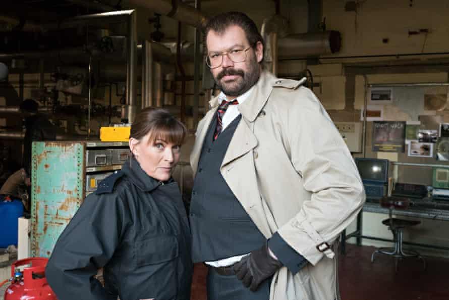 Davis with Lorraine Kelly, Murder in Successville