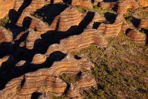 The Bungle Bungles in Purnululu National Park in the Kimberley region in Western Australia.