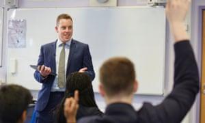 Maths teacher Colin Hegarty