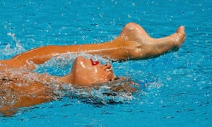 Kazan, Russia Spain's Ona Carbonell performs in the synchronised swimming solo free routine preliminary at the Aquatics World Championships