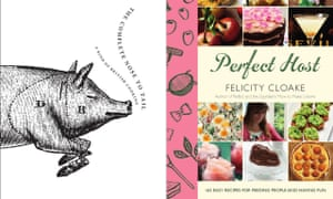 Cookbooks by Fergus Henderson and Felicity Cloake  composite image