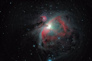 YOUNG ASTRONOMY PHOTOGRAPHER OF THE YEAR: Orion's Gaseous Nebula © Sebastien Grech (UK – aged 13) – HIGHLY COMMENDED