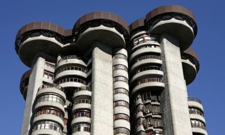 Francisco Javier Sáenz de Oiza's Torres Blancas building in Madrid.