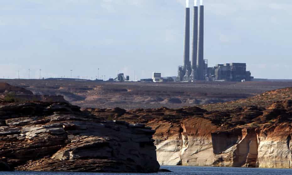 The main plant facility at the Navajo generating station north-east of Grand Canyon national park.