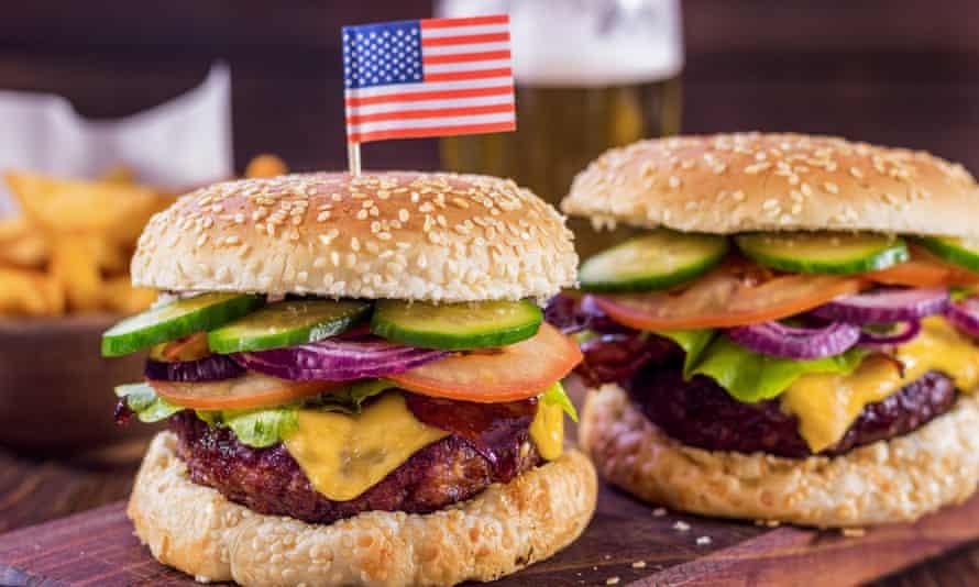 The American burger