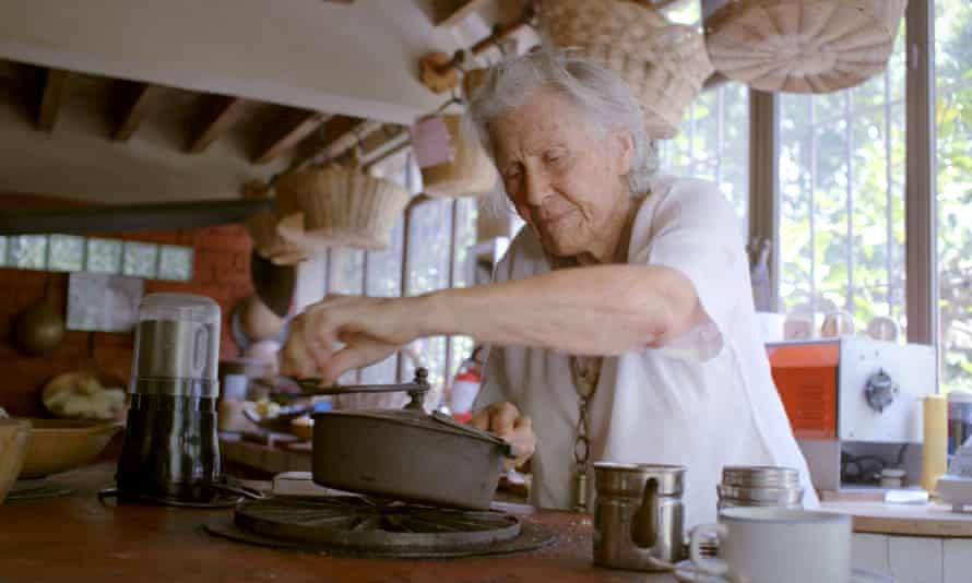 Pot luck: trying out recipes at home, where she also held cookery classes for everyone from actors to renowned chefs.