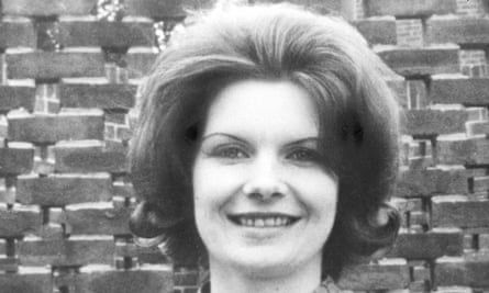 Lord Lucan's children's nanny, Sandra Rivett, who was murdered in November 1974