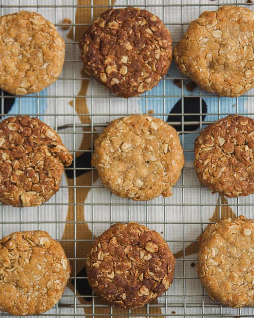 Charlotte Ree's Anzac biscuits