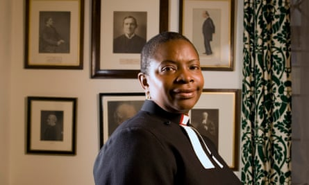 Rose Hudson-Wilkin, chaplain to the Speaker of the House of Commons and chaplain to the Queen.