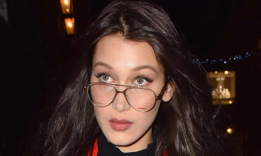 Bella Hadid … recent adopter of the aviator.