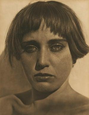 Nahui Olin Edward Weston (American, 1886–1958) 1923 Photograph, platinum print *Courtesy, Museum of Fine Arts, Boston