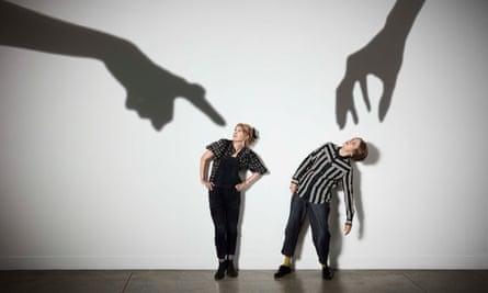 Julia Davis (left) and Vicki Pepperdine