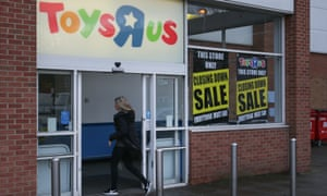 Toys R Us is among the high street chains to have called in administrators already this year.