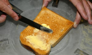 why is a slice of toast much more filling than a slice of bread
