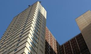 High-rise tower blocks