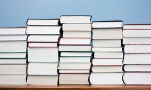 Heavy stuf ... piles of books